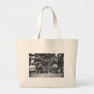 U.S. Horse Artillery Brigade: 1863 Jumbo Tote Bag