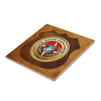 U.S. Marine Corps Forces Command (MARFORCOM) [3D] Small Square Tile