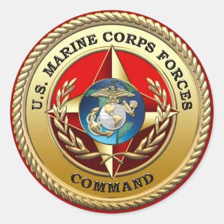 U.S. Marine Corps Forces Command (MARFORCOM) [3D] Sticker