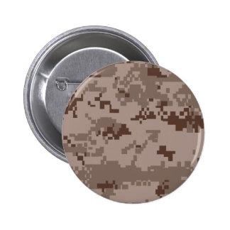 U S Marine Corps Marpat Desert Camouflage Pinback Button