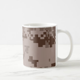 U.S. Marine Corps Marpat Desert Camouflage Coffee Mug