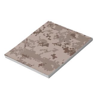 U.S. Marine Corps Marpat Desert Camouflage Scratch Pad