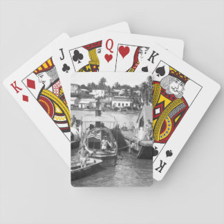 U.S. Marine Corps patrol boats _War Image Poker Deck