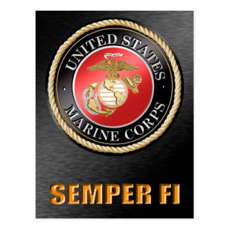 U.S. Marine Corps Semper Fi Postcards