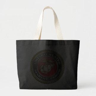 U.S. Marine Corps (USMC) Emblem [3D] Tote Bags