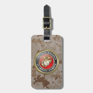 U.S. Marine Corps (USMC) Emblem [3D] Bag Tag