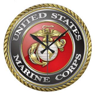 U.S. Marine Corps (USMC) Emblem [3D] Wallclock