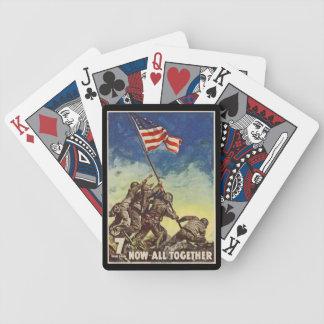 "U.S. Marine Corps Vintage ""Now All Together"" Card Decks"