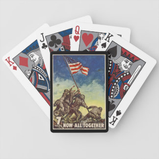 "U.S. Marine Corps Vintage ""Now All Together"" Playing Cards"