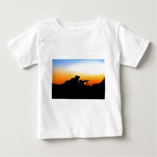 U.S. Marine Provides Security Operation Backstop Baby T-Shirt