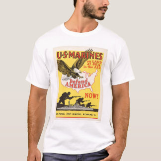 U.S. Marines Defend America T-Shirt
