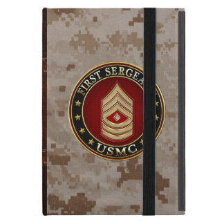 U.S. Marines: First Sergeant (USMC 1stSgt) [3D] iPad Mini Cover
