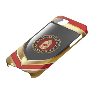 U.S. Marines: Master Sergeant (USMC MSgt) [3D] iPhone 5 Cases