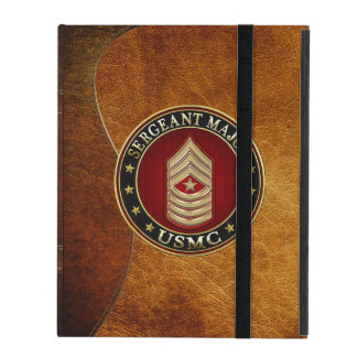 U.S. Marines: Sergeant Major (USMC SgtMaj) [3D] iPad Cover