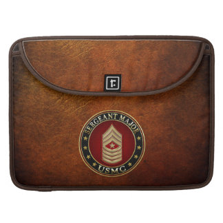 U.S. Marines: Sergeant Major (USMC SgtMaj) [3D] Sleeve For MacBook Pro