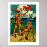 U.S. Marines ~ Signal Flag Posters