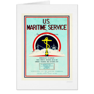U.S. Maritime Service (US02055) Card