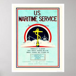 U.S. Maritime Service (US02055) Poster