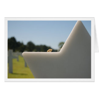 U.S. Military Cemetery in Normandy, France Card