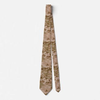 U.S. Military Desert Sand Camouflage Neck Tie