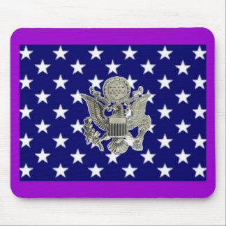 u.s. military insignia mouse pad