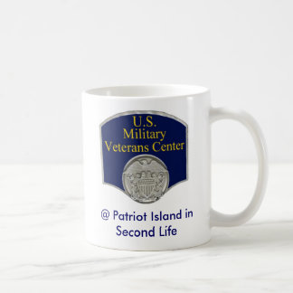 U.S. Military Veterans Center in Second Life Mug