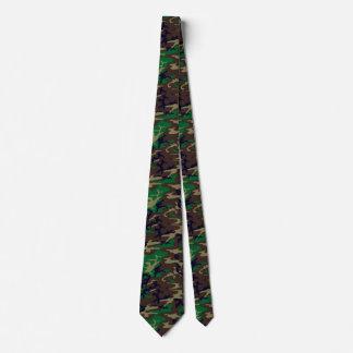 U.S. Military Woodland Camouflage Neck Tie