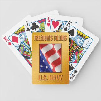 U.S. Navy Bicycle Playing Cards