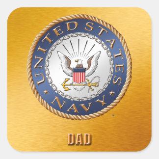 U.S. Navy Dad Sticker