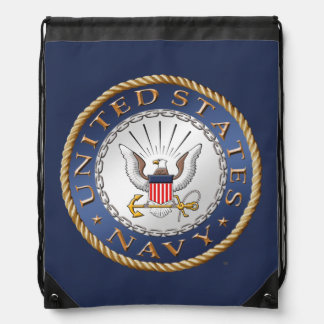 U.S. Navy Drawstring Backpack