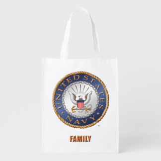 U.S. Navy Family Grocery Bag