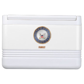U.S. Navy Family Igloo Can Cooler