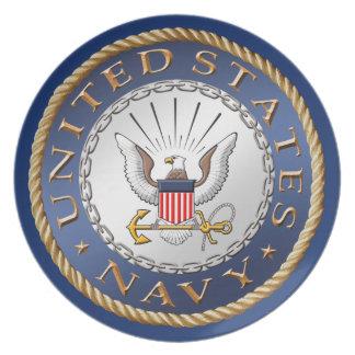 U.S. Navy Melamine Plate