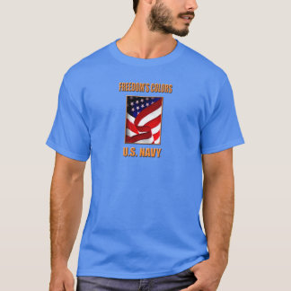 U.S. Navy Men's Basic Dark T-Shirt