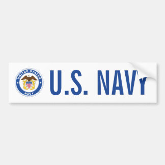 U.S. Navy | Officer Crest Bumper Sticker