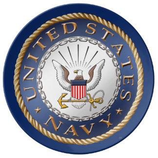 U.S. Navy Porcelain Plate