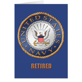 U.S. Navy Retired Cards