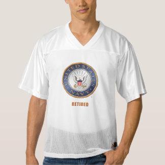 U.S. Navy Retired Football Jersey