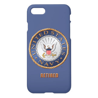 U.S. Navy Retired iPhone 7 Case