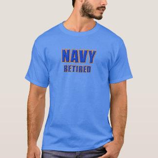 U.S. Navy Retired Men's Basic Dark T-Shirt