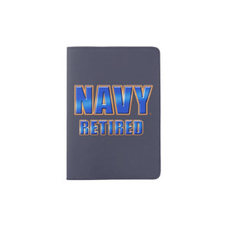 U.S. Navy Retired Passport Holde Passport Holder