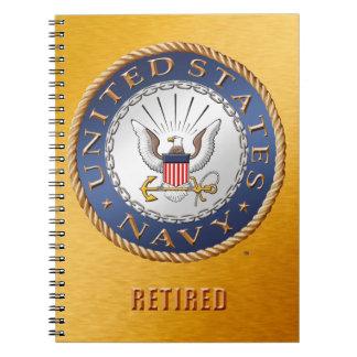 U.S. Navy Retired Spiral Photo Notebook
