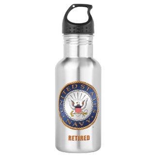 U.S. Navy Retired Water Bottle