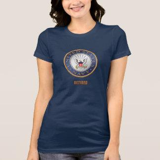 U.S. Navy Retired Women's Bella+Canvas T-Shirt