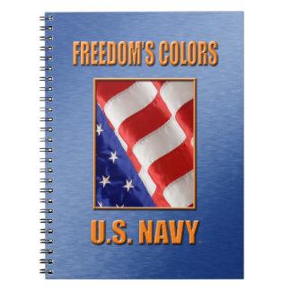 U.S. Navy Spiral Photo Notebook