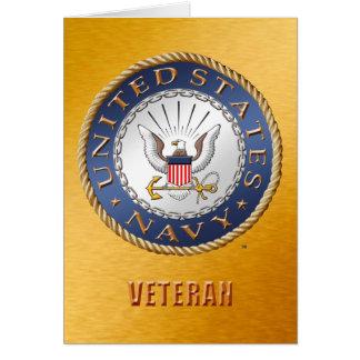 U.S. Navy Veteran Card