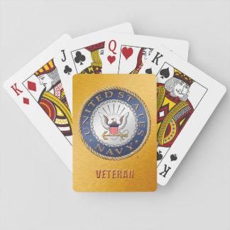 U.S. Navy Veteran Classic Playing Cards