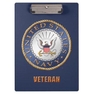 U.S. Navy Veteran Clipboard