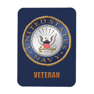 U.S. Navy Veteran Flexible Photo Magnet