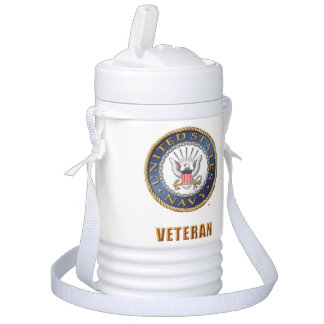 U.S. Navy Veteran Igloo Beverage Cooler